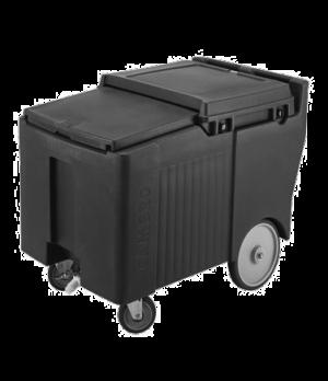 """SlidingLid™ Ice Caddy, mobile, 29-1/4""""H, 175-lb capacity, lid slides back & unde"""