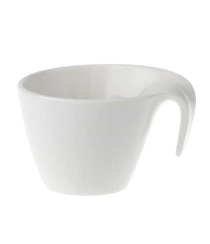 Cup, 6-3/4 oz., premium porcelain, Flow