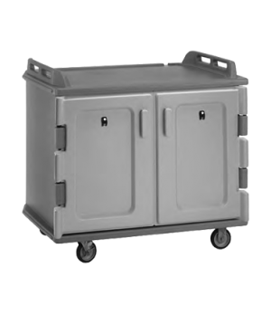 "Meal Delivery Cart, 48-1/2""L x 32-1/2""W x 43-1/2""H, low profile, single stack ra"