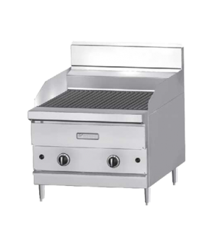 "GF Sentry Flame Failure Series Charbroiler, countertop, gas, 18"" W, ceramic briq"