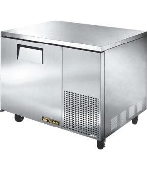 Deep Undercounter Freezer, -10° F, (2) shelves, stainless steel top & sides, whi