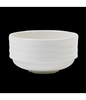 Soup Cup, 10 oz., stackable, unhandled, Performance, Arondo, white (minimum = ca