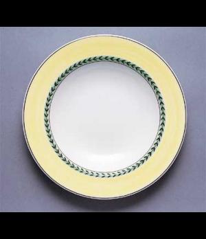 "Rim Soup Plate, 9"", 13 oz., deep, premium porcelain, French Garden-Maintenon"