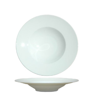 "Pasta Plate, 11-1/2"" (29 cm), round, rimmed, fine bone china, William"