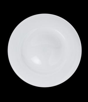"Plateau Plate, 9"" dia., (1-5/8"" rim), round, porcelain, Crucial Detail (minimum"