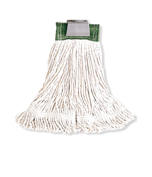 """Super Stitch® Wet Mop Head, medium, 4-ply cotton, 5"""" headband, looped end, for a"""