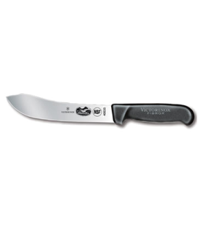 "Butcher Knife, 7"" straight blade, black Fibrox-« nylon handle, slip resistant, N"