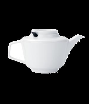 Teapot, 33-3/4 oz., with filter, premium porcelain, Affinity