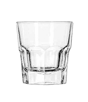 "Rocks Glass, 9 oz., tall, DuraTuff®, GIBRALTAR®, (H 3-7/8""; T 3-1/2""; B 2-1/2"";"