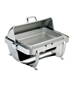"Octave Chafer, full size, 9 qt., rectangular, includes: 20"" x 12"" x 2-1/2"" food"