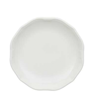 "Plate, 6-1/4"", flat, premium porcelain, La Scala"