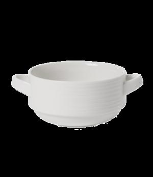 Soup Cup, 8-3/4 oz., stackable,  premium porcelain, Sedona Fuction