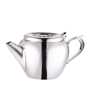 Teapot, 20 oz., stackable, 18/8 stainless steel