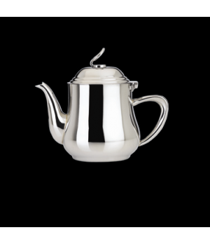 Teapot, 21-1/2 oz., with lid, 18/10 stainless steel, WNK, Eminence (USA stock it