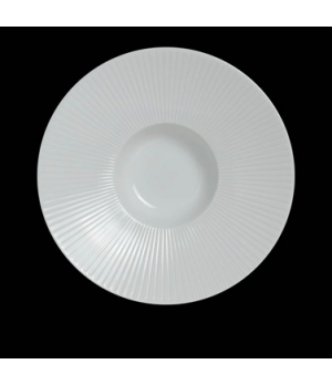 "Signature Gourmet Bowl, 6-1/4""D x 1-1/2""H, with 1-1/2 oz. 2-3/8"" well, porcelain"