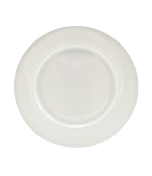 "(8288) Fusion Plate, 8-7/8"" dia. (22.5 cm), wide rim, bone china, microwave safe"