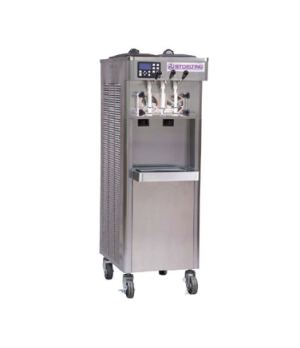 Futura Soft-Serve/Yogurt Freezer, floor model, water-cooled self-contained, twin