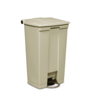 """Step-On Container, 23 gallon, 19-3/4"""" x 16-1/8""""W x 32-1/2""""H, mobile, hands free,"""