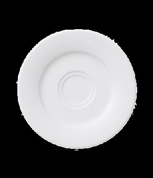 "Saucer, 6-1/4"", premium porcelain, Affinity"