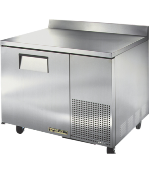 Deep Work Top Freezer, one-section, (2) shelves, 16 ga. stainless steel top, (1)