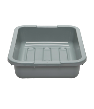 "Cambox®, 15-5/16""L x 19-15/16""W x 4-15/16""H, hi-gloss plastic, light gray"