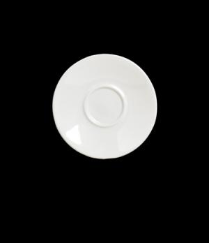 "Jumbo Latte Saucer, 7"" dia., round, Anfora, American Basics (USA stock item) (mi"