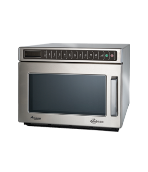 Amana® Commercial C-Max Microwave Oven, 0.6 cu. ft capacity, 1800 watts, heavy v