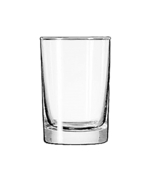 "Side Water Glass, 5-1/2 oz., Safedge® Rim guarantee, heavy base, (H 3-1/2""; T 2-"
