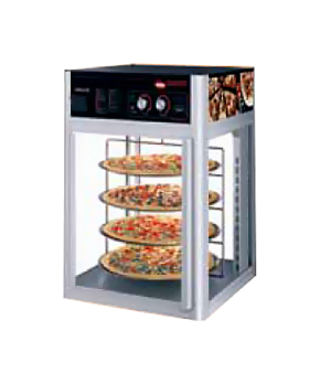 Flav-R-Savor® holding and display cabinet, (2) door, (3) tier circle rack with m
