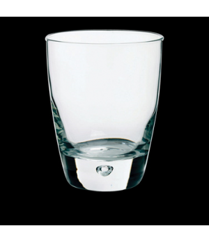 "Double Old Fashioned Glass, 11-1/2 oz., 3-1/2"" x 4-1/4"", Bormioli, Luna (USA sto"