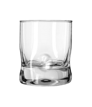 "Double Old Fashioned Glass, 11-3/4 oz., IMPRESSIONS, (H 4""; T3-3/8""; B 3-3/8""; D"