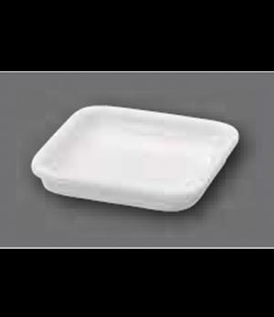 "Serving Dish/Lid, 3"" x 3"", square, oven, microwave and dishwasher safe, porcelai"