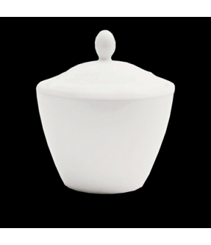Madison Covered Sugar Pot, 7-1/2 oz., with lid, vitrified ceramic, Performance,
