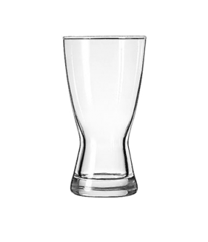 "Pilsner Glass, 12 oz., Safedge® Rim guarantee, Hourglass Design, (H 6""; T 3-1/8"""
