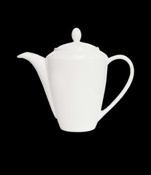 Madison Lid, Size 4, vitrified ceramic, Performance, Simplicity, White (UK stock