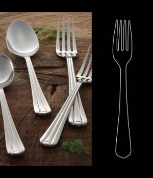 "Dessert Fork, 7"", 18/10 stainless steel, Rene Ozorio Monza (USA stock item) (min"