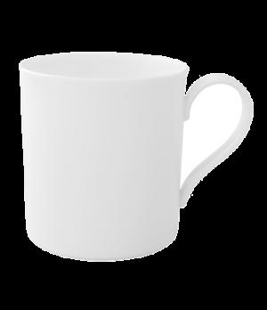 Cup, 7 oz., with handle, premium bone porcelain, Modern Grace