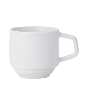 Cup, 3-1/4 oz., stackable, premium porcelain, Affinity
