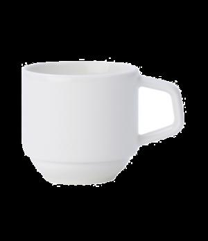 Cup, 3-1/4 oz., stackable, premium porcelain, Affinity