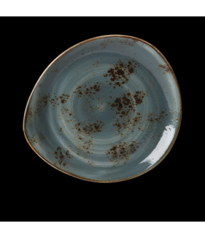 "Plate, 12"" dia., free style body, freezer/microwave/dishwasher safe, lifetime ed"