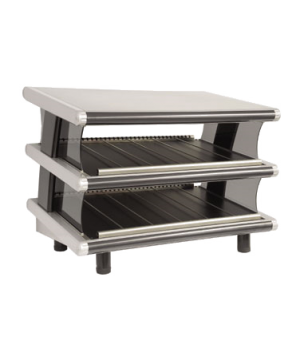 "Heat-Wave™ Euro Display Merchandiser, electric, countertop, 24"" wide, slanted si"