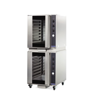 Turbofan Prover/Holding Cabinet, electric, dual function, double stacked, (8) fu