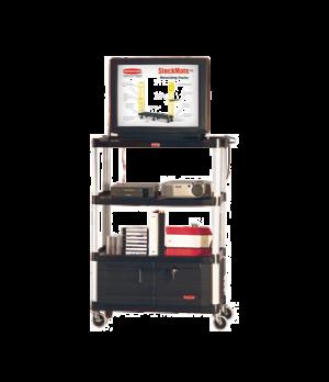 "Media Master™ Audio-Visual Cart, 36-1/2"" x 20"" x 48"" H, 300 lb. capacity, 4 shel"