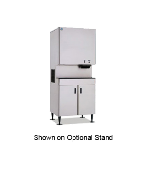 Ice Maker/Water Dispenser, Cubelet-Style, water-cooled, self-contained condenser