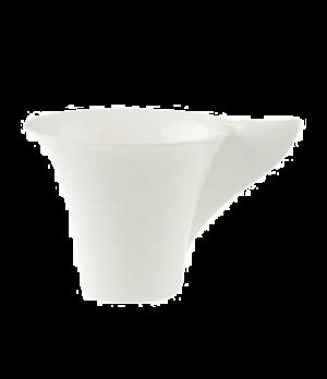 Cup, 6-3/4 oz., premium bone porcelain, New Wave Premium (Special Order)