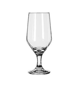 "Beer Glass, 12 oz., Safedge® Rim and foot guarantee, ESTATE, (H 7-1/8""; T 2-1/2"""