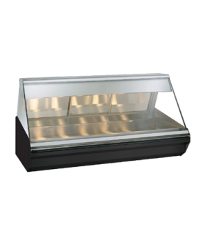 "Halo Heat® Heated Display Case, countertop, 72"" L, full/self-service, self-servi"