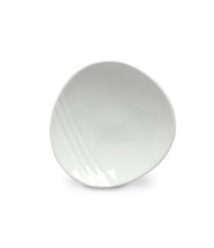 "Plate, 6"" dia., round, Distinction, Organic, Organics White (USA stock item) (mi"