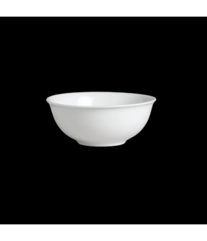 "Bowl, 12 oz., 5-1/8"" dia., round, footed, porcelain, Aura, Rene Ozorio (Canada s"
