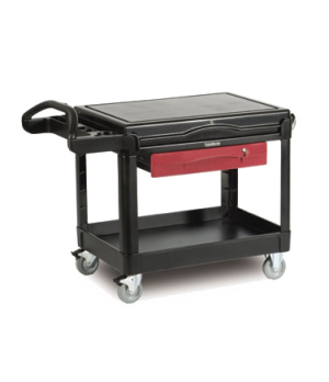 "TradeMaster™ Contractor's Cart, 24"" x 36"" shelf size, 500 lb. total capacity, as"